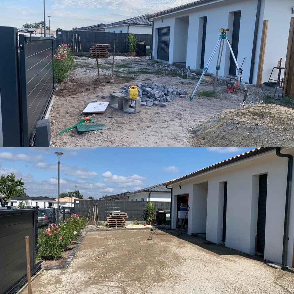 Entreprise de terrassement et d'assainissement en Gironde
